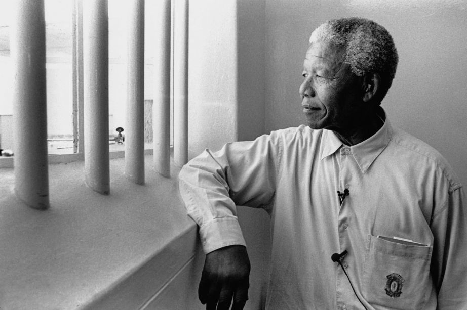 Nelson-Mandela-revisits-his-prison-cell-on-Robben-Island-2013866