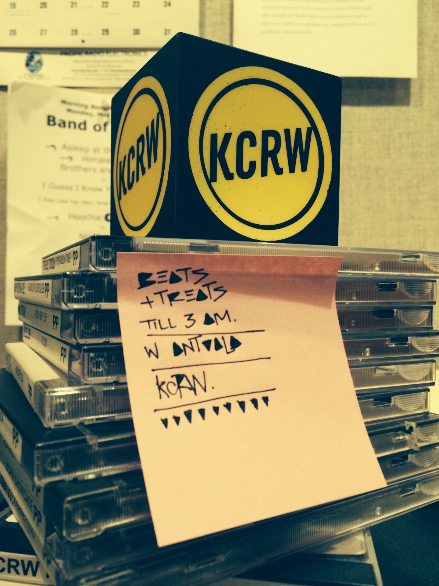 KCRW PLAYLIST |  27 MAY 2014