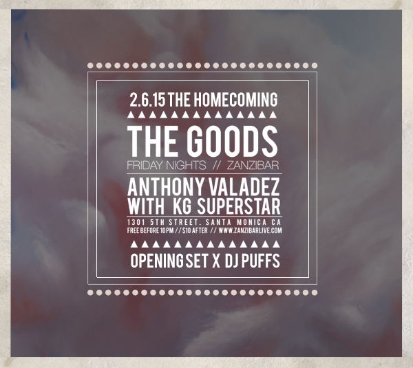 THE GOODS FLYER HOMECOMING