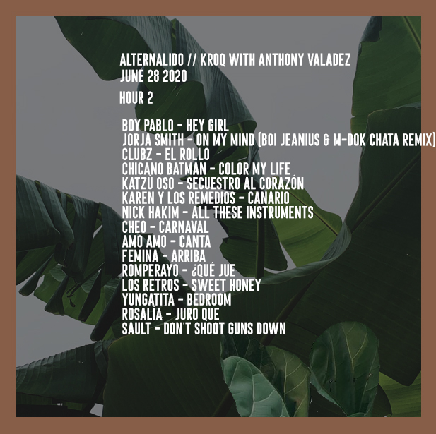 ALTERNALIDO PLAYLIST ART 28 JUN